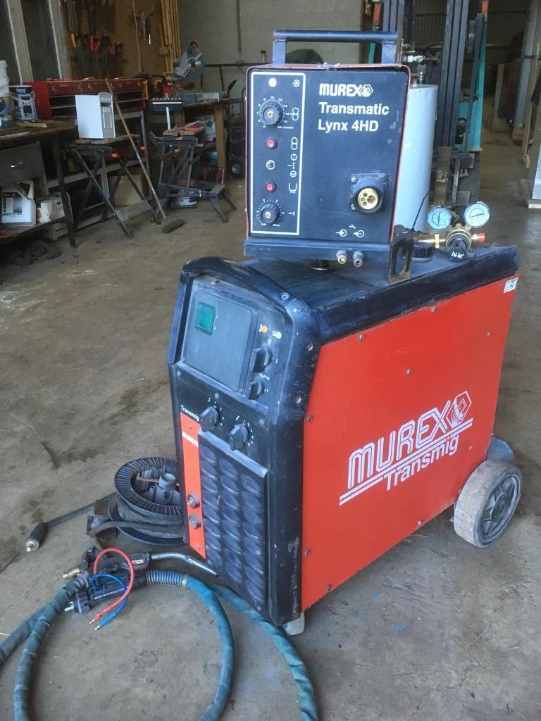 Murex 400 Amp Water Cooled Mig Welder | in Biggar, South Lanarkshire ...