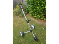 Golf trolley never used