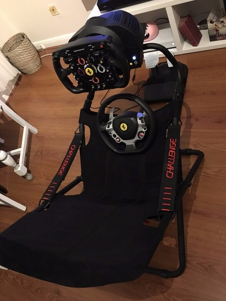 playseat challenge thrustmaster tx ferrari 458 italia ferrari f1 wheel add on xboxone pc in. Black Bedroom Furniture Sets. Home Design Ideas