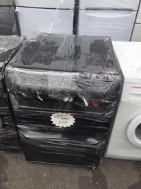 Reconditioned Hotpoint 60cm Black Electric Cooker