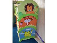 Childrens stacker storage boxes