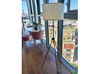 Slim Tripod Floor Lamp. Hight Adjustable Lamp.