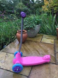 Genuine Razor scooter pink £8
