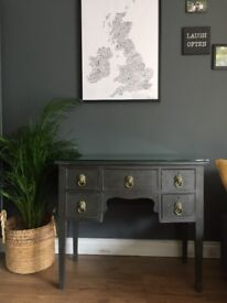 Anthracite Grey Upcycled Sideboard/Cabinet