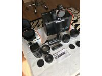 Sony a7 full frame camera with accessories