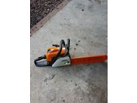 Sthil petrol chainsaw spares or repair. Now Sold !!!!