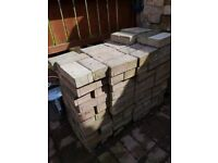 165 Used Marshal red block pavers 200 x 100 x 60