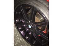 "BMW E92 Genuine 19"" M Sport Alloys and tyres"