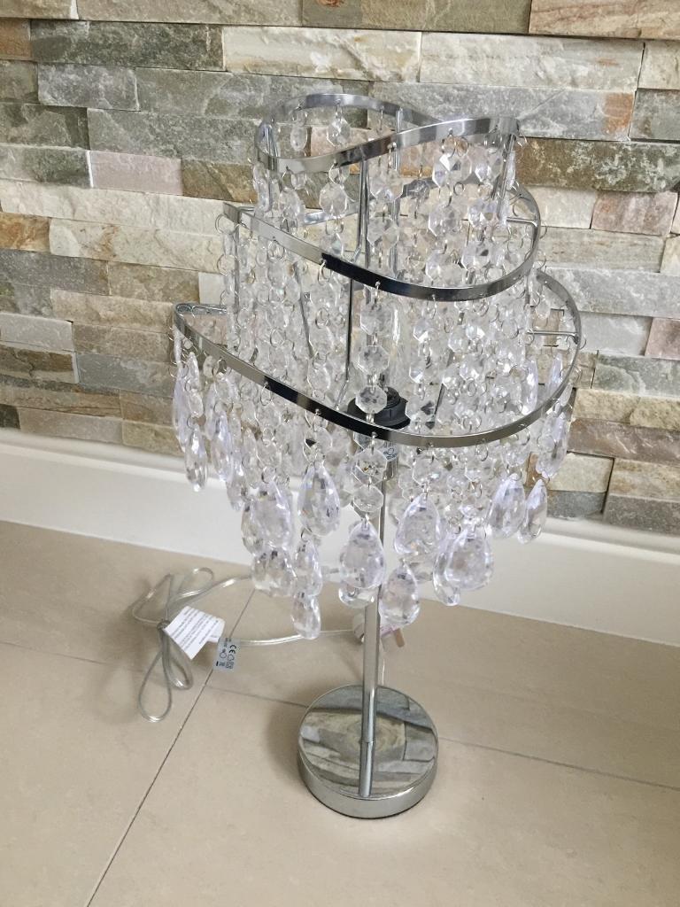 Designer New Vincenza 3 Tier Wave Table Lamp Littlewoods Price 55 In