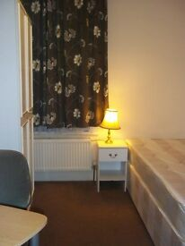 Large single room for professional housemate in East Ham £95pw