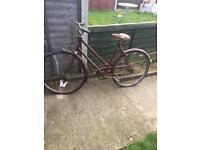 Rudge Ulster tourist bike £30