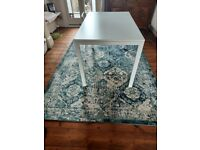 125x75 white IKEA dining table