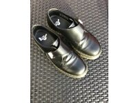 NEW Dr Martens fenimore buckle strap shoes in black Size 8 Bargain £40