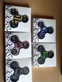 job lot pattern x 50 spinners