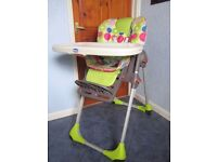 Chicco Poly Fully Adjustable High Chair