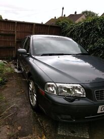 Volvo S80 LPG converted with towbar