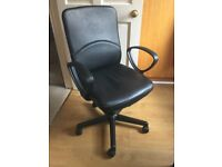 Black office computer chair