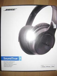 Bose SoundTrue Over Ear Headphones with Mic. Soft. Light weight. Slim. for Iphone. Crisp Clear Top-end Sound/ Audio. NEW