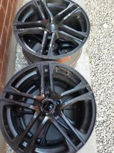 VOLKSWAGON TIGUAN AFTER MARKET 18 INCH ALLOY WHEEL SET OF FOUR.NO SENSORS