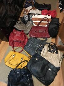 Large Collection of Ladies Bags