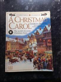 Charles Dickens A Christmas Carol Book And Oliver Twist Plate