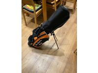Ben Sawyer's children's golf bag