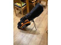 Ben Sawyer's children's golf bag