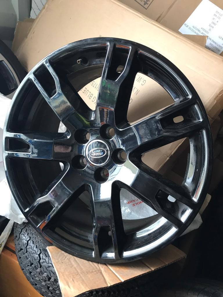 "Range Rover evoque 18"" alloys black"