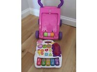 Vtech first step baby walker perfect condition