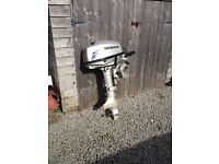 Honda 5hp four stroke outboard engine - spares or repair
