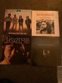 THE DOORS RECORDS LPS VINYL FOR SALE X 4 CAN POST UK RARE GERMAN PRESSINGS