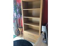 MDF Bookcase With Drawers