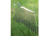 Golf clubs & trolley accessories
