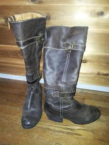 genuine leather boots, great quality Kitchener / Waterloo Kitchener Area image 1
