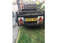 Small sturdy car trailer cheap £70