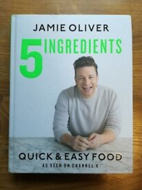 Jamie Oliver 5 ingredients cook book - new condition