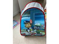 Paw Patrol KidActive Pop Up Playhouse Play Tent Indoor or Outdoor Portable Play