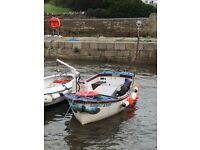 18ft Plymouth pilot fishing boat