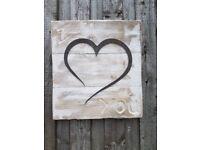 Decrative Valentine sign, shabby chic sign, reclaimed wood sign,love sign,sign,signs,valentine,