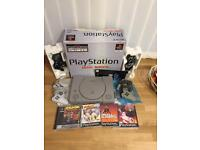 Sony PlayStation ps1 console boxed bundle