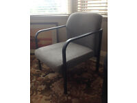 Grey Office / Lounge armchair - excellent condition