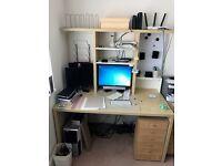 IKEA Computer Desk with Shelf unit