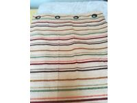 Lined curtains 66 x 72