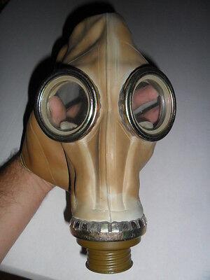 Vintage Soviet USSR Rubber Gas Mask for Scary Decoration Monster - Scary Gasmask