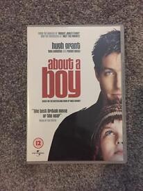 About a boy dvd
