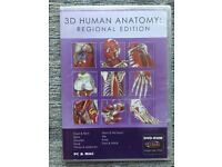 3D Human Anatomy: Regional Edition - Worth at least£300. Unopened. Mac or Windows