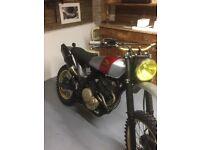 1982 Honda scrambler NX 650cc
