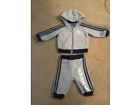 0-3 months adidas tracksuit