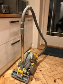 FREE Used Dyson Vacuum cleaner, Dual Cyclone, Lightweight, Bagless, Yellow/Grey