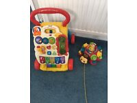 Baby walker & pull along toy